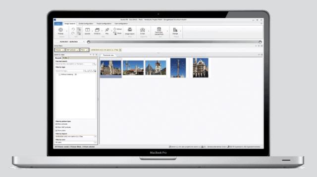 Flexible views - miniature layout - thumbnails