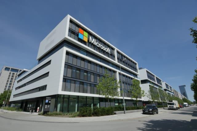 Unternehmenszentrale Microsoft Deutschland in München